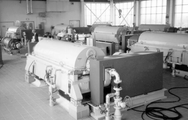 centrifuge-dewatering